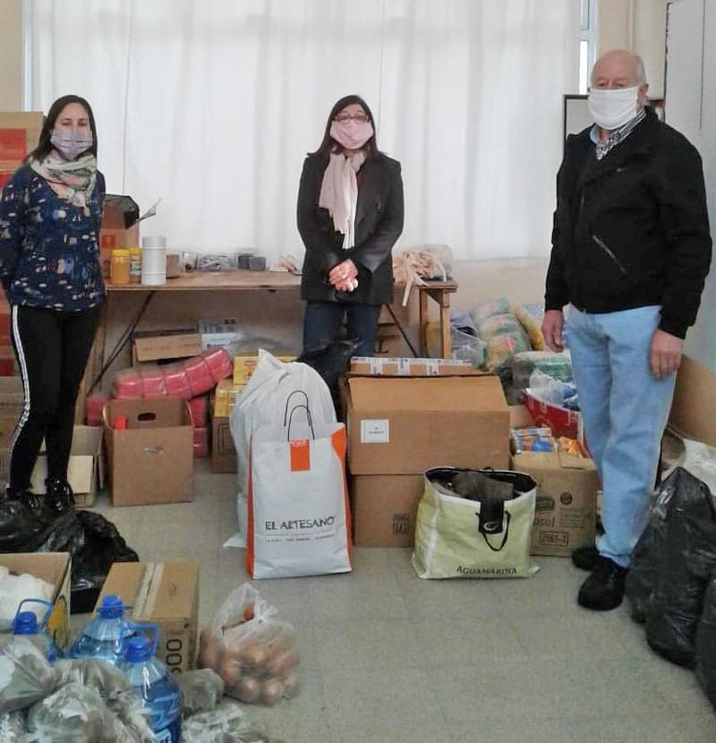 Photo of Donación de la delegación local del Instituto Nacional Browniano