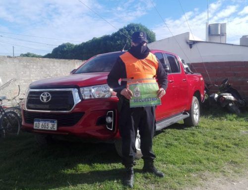 En control rutinario detectaron una pickup sustraída en Ituzaingó