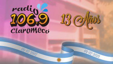Photo of ¡Felices 13 años, 106.9 Radio Claromecó!