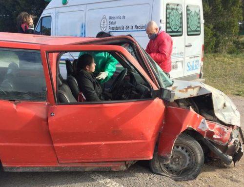 Accidente de tránsito en la Curva del Mozo