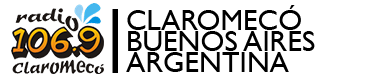 Radio Claromecó 106.9MHz – Desde Claromecó para todo el mundo Logo