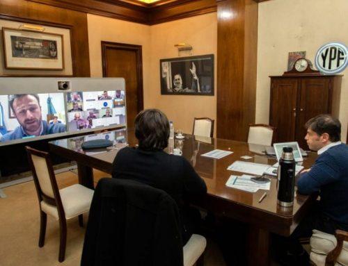 Kicillof se reúne con todos los intendentes por el avance de los casos en el interior