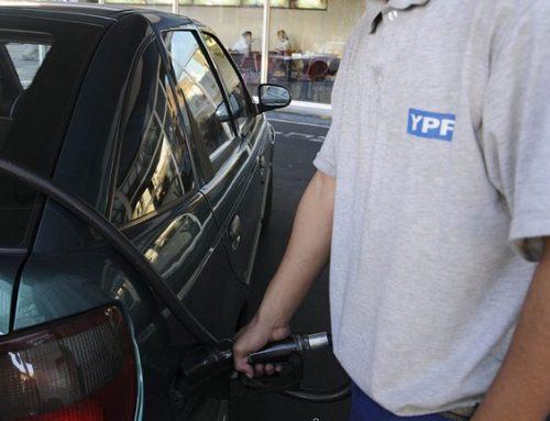 YPF subió los precios de los combustibles un 3,5% en promedio en todo el país