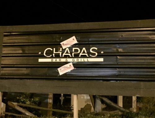 Desarticularon fiesta clandestina en Chapas Bar