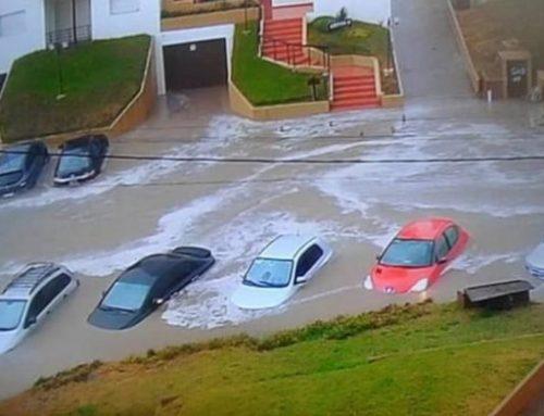 Villa Gesell: Lluvia y viento dejan a la ciudad en emergencia