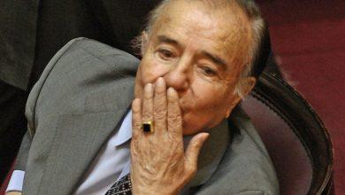 Photo of Apareció el anillo histórico de Carlos Menem: lo entregó la familia del enfermero que está prófugo