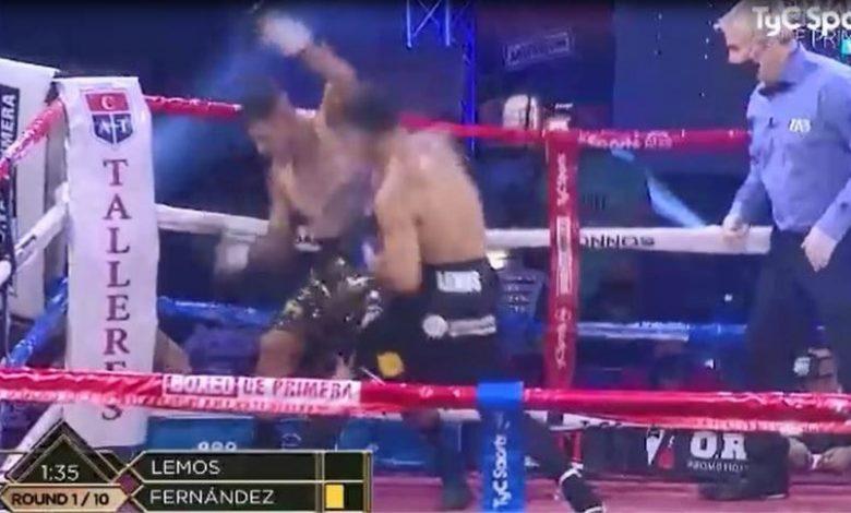 Photo of Tremendo KO de Tito Lemos en el primer round para retener su título latino (video)