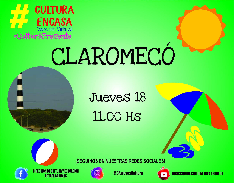 Photo of Agenda Cultural Virtual: Recorriendo Claromecó