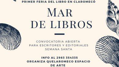 """Photo of """"Mar de Libros"""": la primer feria del libro en Claromecó"""