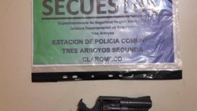 Photo of Secuestraron un arma sin documentación en un allanamiento en Dunamar