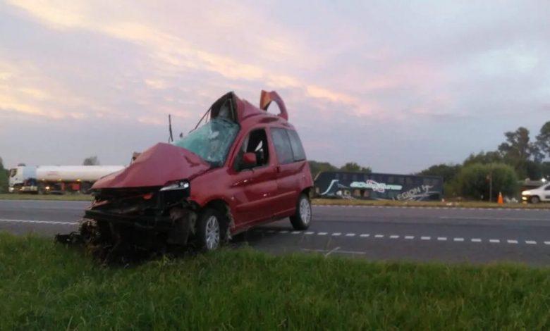Photo of Tragedia en la Ruta 9: Un bebé es el único sobreviviente de un accidente
