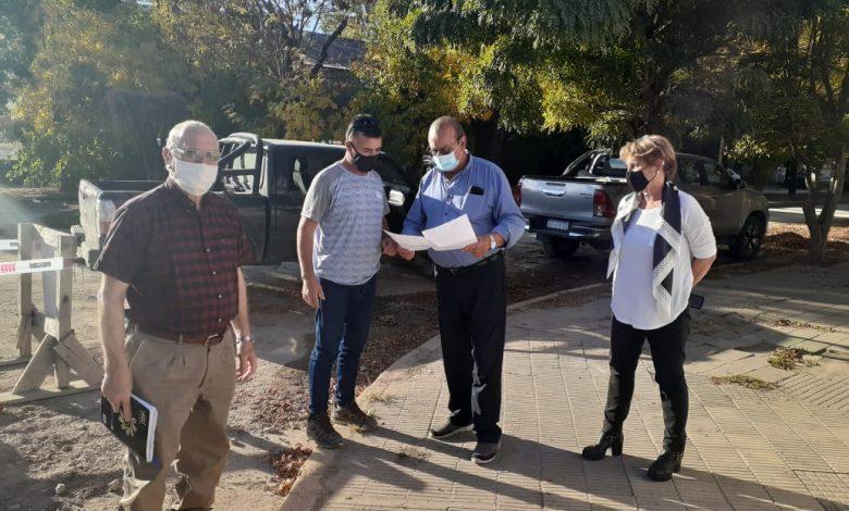 Photo of El intendente recorrió la obra de cloacas en Orense