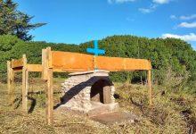 Photo of A tres meses de la desaparición de Barreto su padre construye un monumento